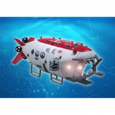 Maquette submersible chinois Jialong