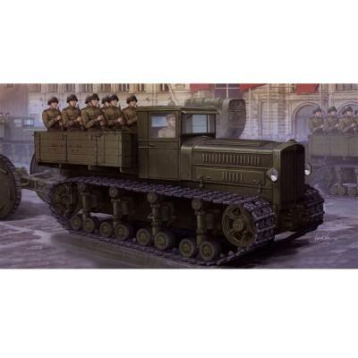 Maquette Tracteur d'artillerie soviétique Komintern 1942 - Trumpeter-TR05540