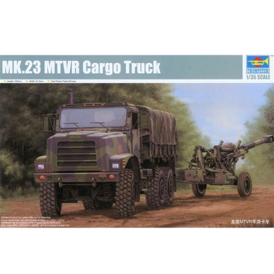 Maquette US MTVR Camion cargo - Trumpeter-TR01011