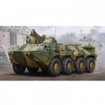 Maquette Véhicule de transport de troupes : BTR-80 APC (Fin de production)