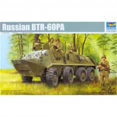 Maquette véhicule militaire : BTR-60PA russe