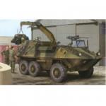 Maquette véhicule militaire : Husky 6x6 APC Armée canadienne
