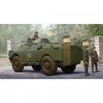 Maquette Véhicule Militaire : Véhicule blindé soviétique BRDM-2 NBC