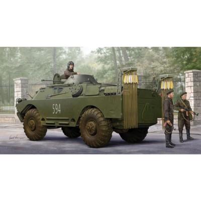 Maquette Véhicule Militaire : Véhicule blindé soviétique BRDM-2 NBC - Trumpeter-TR05513