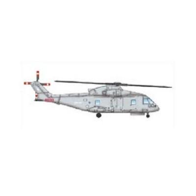 Maquettes : Set de 3 hélicoptères EH-101 - Trumpeter-TR06265