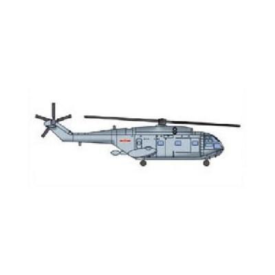 Maquettes : Set de 6 hélicoptères chinois Z-8 - Trumpeter-TR06267