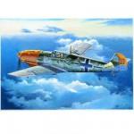 Maquette avion: Messerschmitt BF 109E-4