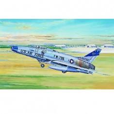 Maquette avion: North american F-100D Super Sabre