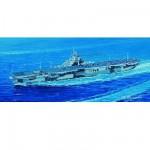 Maquette bateau: Porte-avions USS CV-19 Hancook