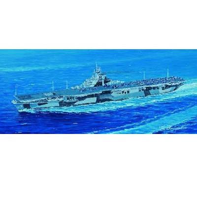 Maquette bateau: Porte-avions USS CV-19 Hancook - Trumpeter-TR05737