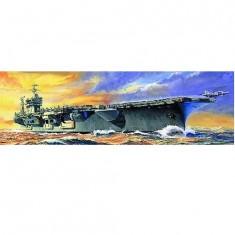 Maquette bateau: Porte-avions USS CVN-68 Nimitz