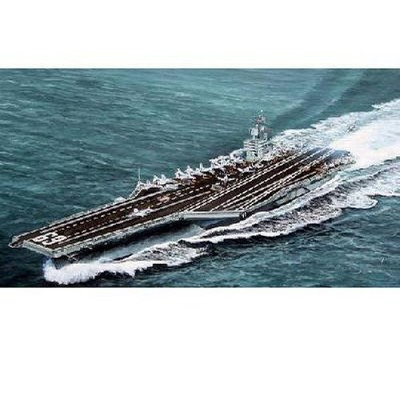 Maquette bateau: Porte-avions USS CVN-69 Dwight D.Eisenhower 1978 - Trumpeter-TR05753