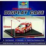 Présentoir vitrine pour maquette : Plastique 117 x 117 x 52 mm