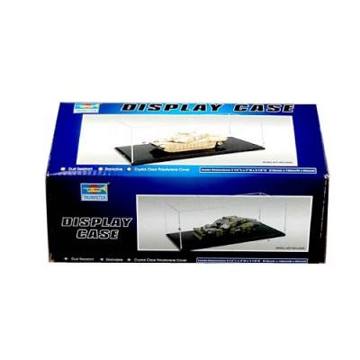 Présentoir vitrine pour maquette : Plastique 210 x 100 x 80 mm - Trumpeter-TR09817