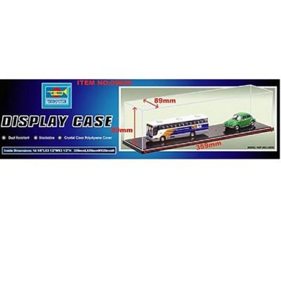 Présentoir vitrine pour maquette : Plastique 359 x 89 x 89 mm - Trumpeter-TR09809