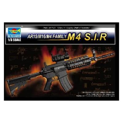 Réplique du Fusil d'assaut AR15/M16/M4 (famille des M4 S.I.R) - Trumpeter-TR01916