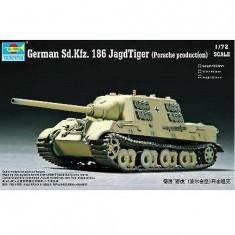 Maquette Char: SdKfz.186 JAGDTIGER (modèle Porsche) 1944
