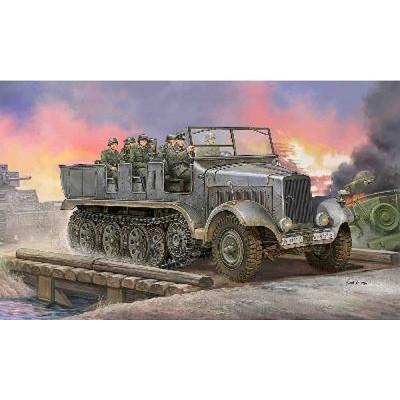 Maquette Half-track : Sd.Kfz.6 Hamnlettenzugmaschine Artillerieausfuhrung 1941 - Trumpeter-TR05531