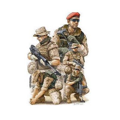 Figurines militaires : Troupes allemandes ISAF : Afghanistan 2009 - Trumpeter-TR00421