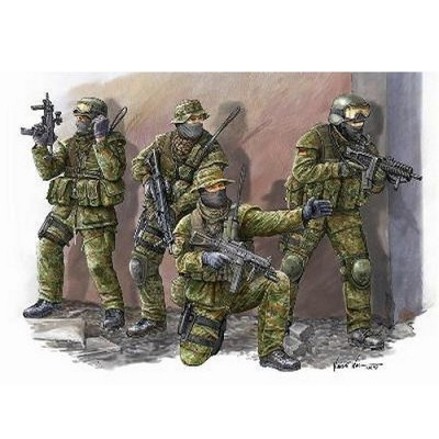 Figurines militaires : Troupes allemandes KSK Commandos: Afghanistan 2009  - Trumpeter-TR00422