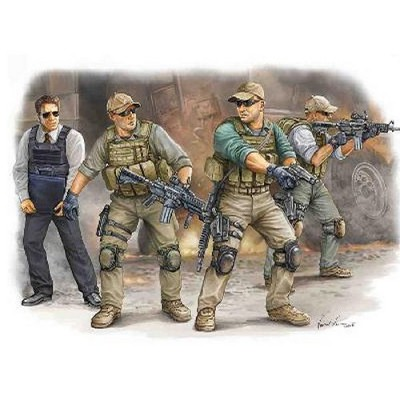 Figurines militaires : VIP Protection : Irak 2009 - Trumpeter-TR00420