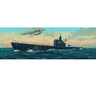 Maquette Sous-marin USS SS-212 Gato 1941 - Trumpeter-TR05905