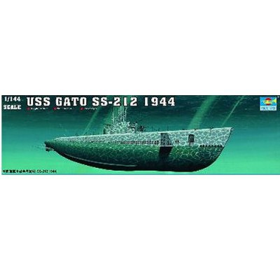 Maquette Sous-marin USS SS-212 Gato 1944 - Trumpeter-TR05906