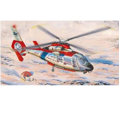 Maquette hélicoptère: Sud aviation SA365N: Dauphin 2 avec déco France - Trumpeter-TR02816