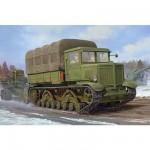 Maquette Tracteur lourd d'artillerie soviétique Voroshilovets 1941