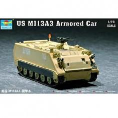 Maquette Char: US M 113A3 Véhicule blindé
