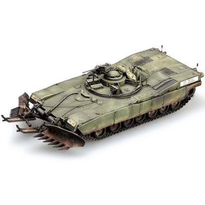 Maquette Char: US M1A1/A2 Abrams 5 en 1 - Trumpeter-TR01535