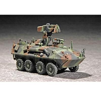 Maquette Char: USMC LAV-C2 (commandement et contrôle) - Trumpeter-TR07270
