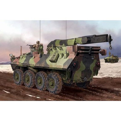 Maquette USMC LAV-R Light Armored Vehicle Recovery - Trumpeter-TR00370