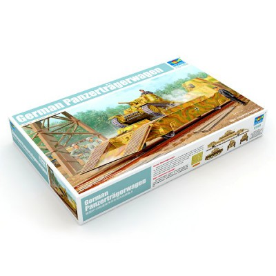 Maquette Wagon allemand Panzerträgerwagen - Trumpeter-TR01508