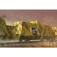 Maquette Wagon blindé allemand: Transport de troupes : Kommandowagen