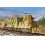 Maquette Wagon blindé allemand Kanonen und flakwagen