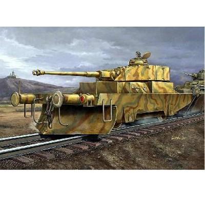 Maquette Wagon blindé allemand Panzerjagerwagen N02 - Trumpeter-TR00369