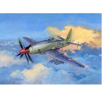 Maquette avion: Westland Wyvern S.4: Début de production - Trumpeter-TR02843