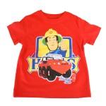 TShirt Sam Le Pompier : Rouge : 8 ans