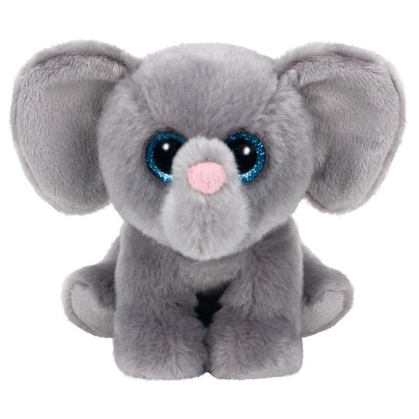 Peluche Beanies 12 cm : Whopper l'éléphant - BeanieBoos-TY42119