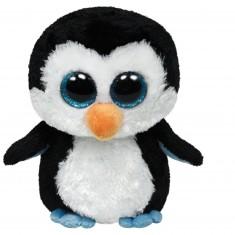 Peluche TY Beanie Boo's Medium : Waddles le pingouin