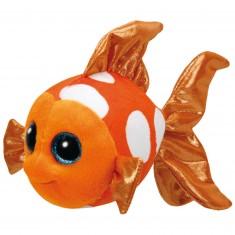 Peluche TY Beanie Boo's Small : Sami le poisson