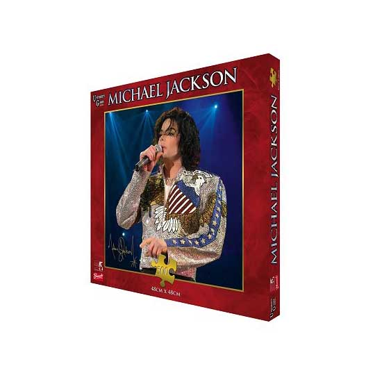 Puzzle 500 pièces - Michael Jackson : What More Can I Give - University-33225