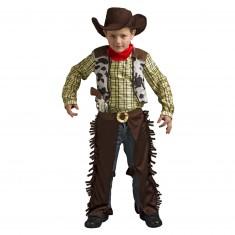 Déguisement Billy the kid (avec chapeau et revolver) : 3/4 ans