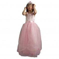 Déguisement Princesse Clara avec jupon et diadème : 3/4 ans