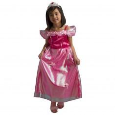 Déguisement Princesse Emma avec cerceau et diadème : 5/7 ans