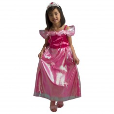Déguisement Princesse Emma avec cerceau et diadème : 8/10 ans