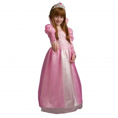 Déguisement Princesse Victoria avec cerceau et diadème : 5/7 ans