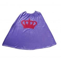 Cape de déguisement : Princesse mauve
