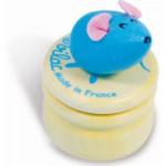 Boîte à dent de lait : Souris bleue